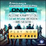 Ghost Recon Online MMO Banner