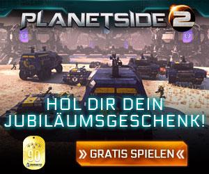 PlanetSide 2 MMO Banner