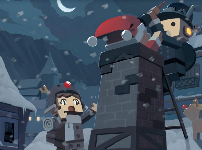 Brick-Force ist ein Online Shooter im Design von Minecraft