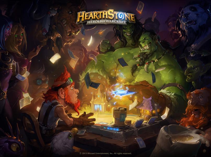 Hearthstone Heroes of Warcraft ist ein Online Sammelkartenspiel